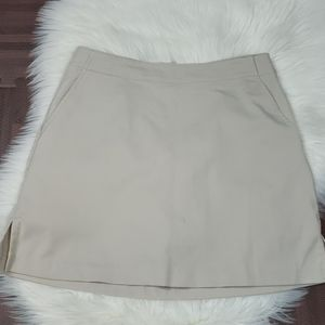 Lady Hagen Stone Colored Golf Skort